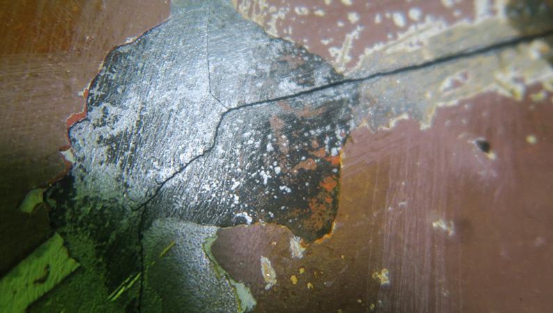 Hull crack repairs